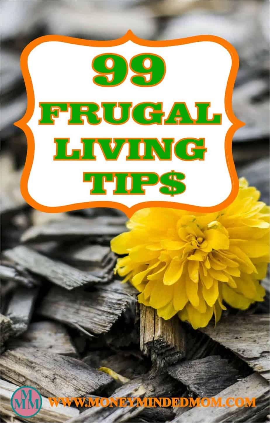 99 frugal living tips