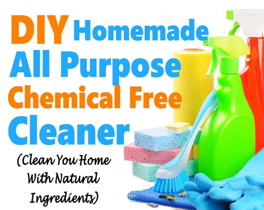 Love to save money around the house? If so, then this DIY homemade all purpose chemical free cleaner is a perfect fit. Cleaning products are so expensive, I love to find cleaning hacks that save money. Try it out!! #DIY