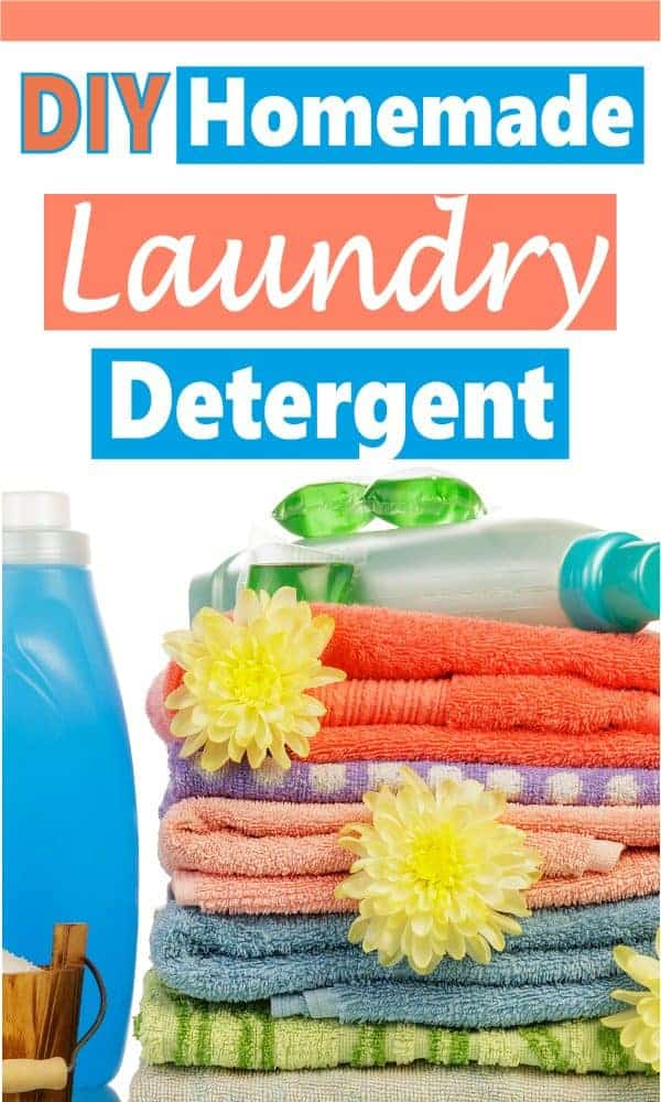 Laundry is a chore we all must do even though we don't like to. It's also a big yearly expenses, but there are things we can do to save money and one way it to DIY. Making your own laundry detergent is a great way to save a bunch of money every year. It cost literally pennies on the dollar compared to store bought detergent. Read on to learn how to make your own. cleaning hacks | save money | DIY cleaning products | DIY  #DIY #Cleaninghacks #savemoney