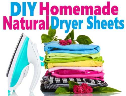 DIY Natural Dryer Sheets