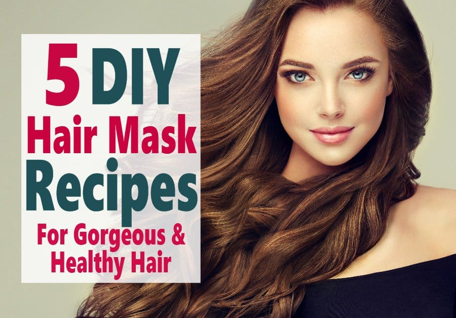 Does your hair need some love? These DIY Hair Mask Recipes are perfect for turning your dry and damaged hair into beautiful locks without spending a fortune on hair care products. #beauty #DIYbeauty