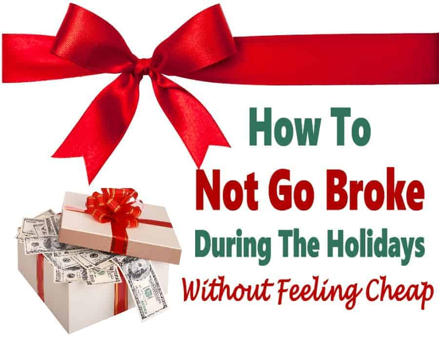 How Not To Go Broke This Christmas Season ~ The Christmas season is a time for giving, who doesn't want to give to loved ones and see them happy? The downside of this is that Christmas is also a time when many people get in debt. There are things that you can do to save money and still give without going into debt. These tips are sure to help you stay on budget!! #Christmas #savemoney #budget