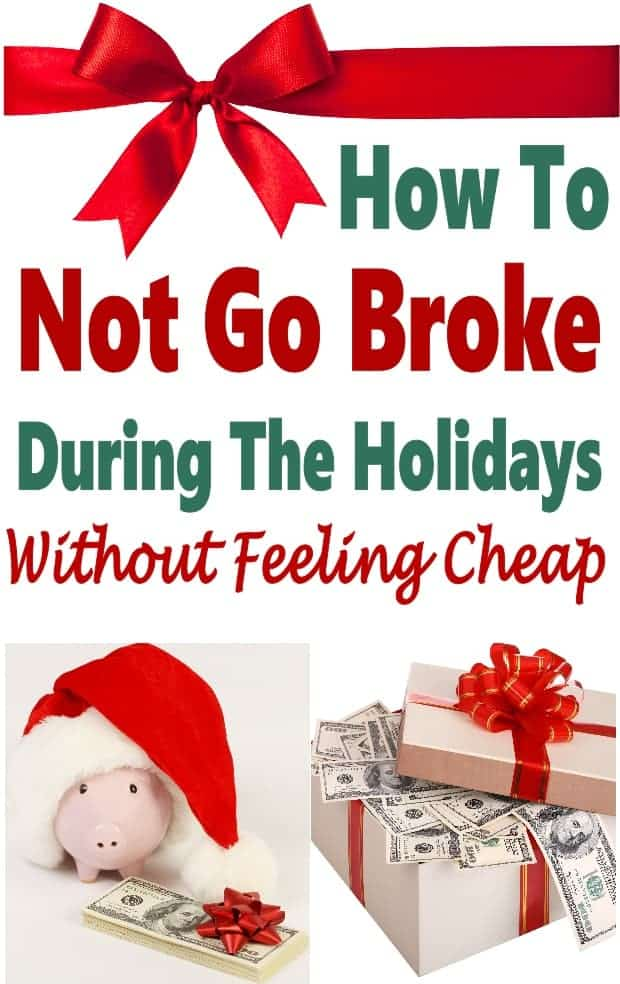 How Not To Go Broke This Christmas Season ~ The Christmas season is a time for giving, who doesn't want to give to loved ones and see them happy? The downside of this is that Christmas is also a time when many people get in debt. There are things that you can do to save money this Christmas seasons and still give without going into debt. These tips are sure to help you stay on budget!! #Christmas #savemoney #budget
