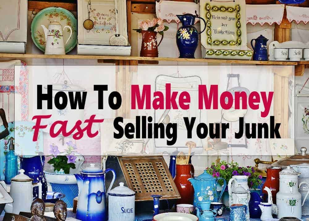 Cash in on Clutter ~ Make Money Selling Your Stuff - Want to make money fast? Why not sell you junk to make quick cash while cleaning and organizing your home? Click on over to find the best places to sell your stuff online for profit. make money | extra income | make money online #makemoney #sellyourstuff #extraincome