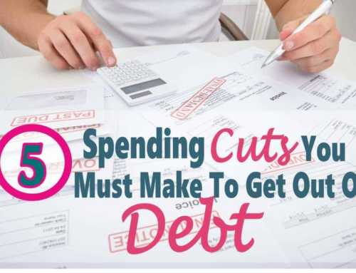 Debt Free ~ 5 Expenses You Must Cut When Getting Out Of Debt