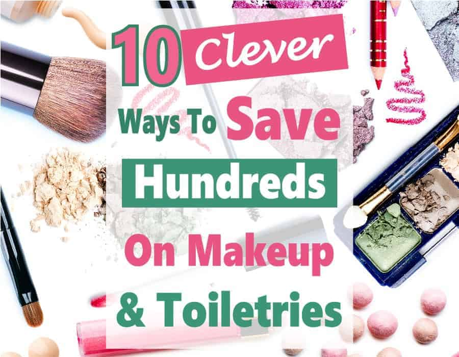 Makeup and toiletries can take a big bite out of your budget. You go to the drugstore to pick up a few items & end up spending way more than you expected. Good news is there are some clever tricks you can use to save money on makeup and toiletries. #savemoney #money #budget