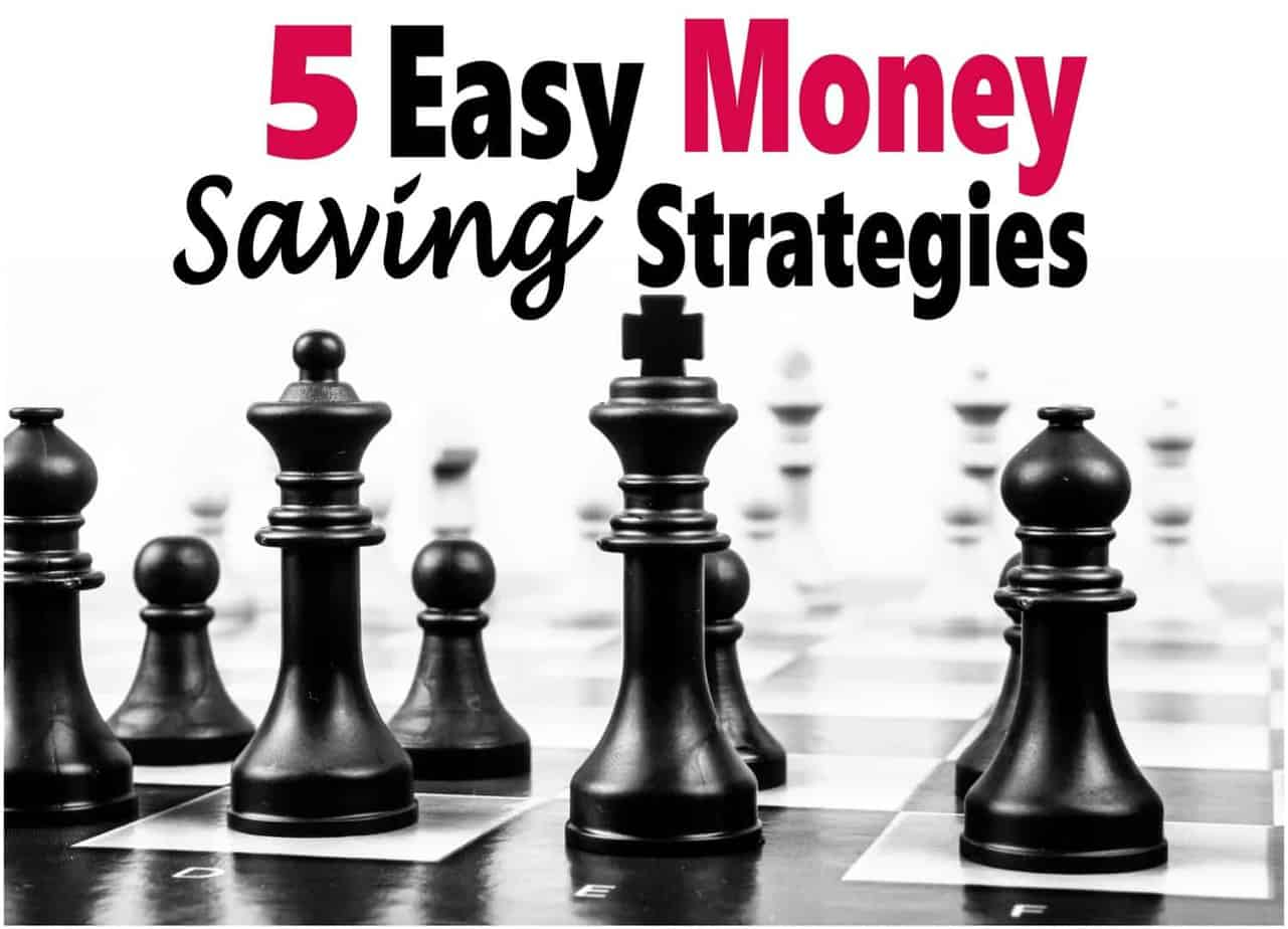 5 Easy Money Saving Strategies ~ Saving money doesn't need to be super difficult, a few small changes can make a big difference. Check out these 5 easy ways to start saving. saving money | money | frugal | save money | finance #money #finance #savemoney # saving money