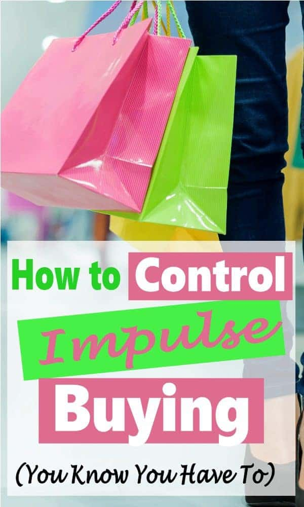 Impulse buying is a bad habit that you need to get under control. It is impossible stick to a budget, save money or achieve financial freedom if you continually make impulse purchases. These tips are sure to help you get this bad habit under control. Budget | Save Money | Wasting Money | Personal Finance | Finance #money #savemoney #personalfinance #financialfreedom