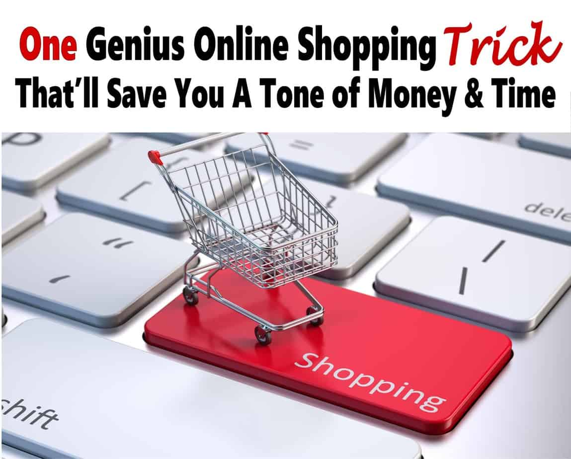 One Genius Trick To Saving Tons of Money Online Shopping. Check out my simple online shopping tricks that will save you a ton of money every year and a bunch of time and frustration too. saving money | money saving tips | money | finance | budget | shopping | online shopping #money #finance #onlineshopping #shopping