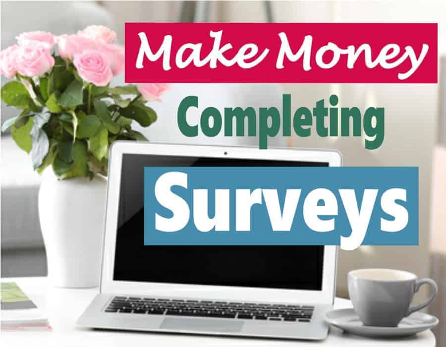 Completing surveys can be a great way to make some extra income in your spare time. I will say that you can't make a full time income or get rich doing it but if you are looking to earn some extra money in your spare time, then it's the perfect side hustle. Check out my survey favorite sites. #makemoney
