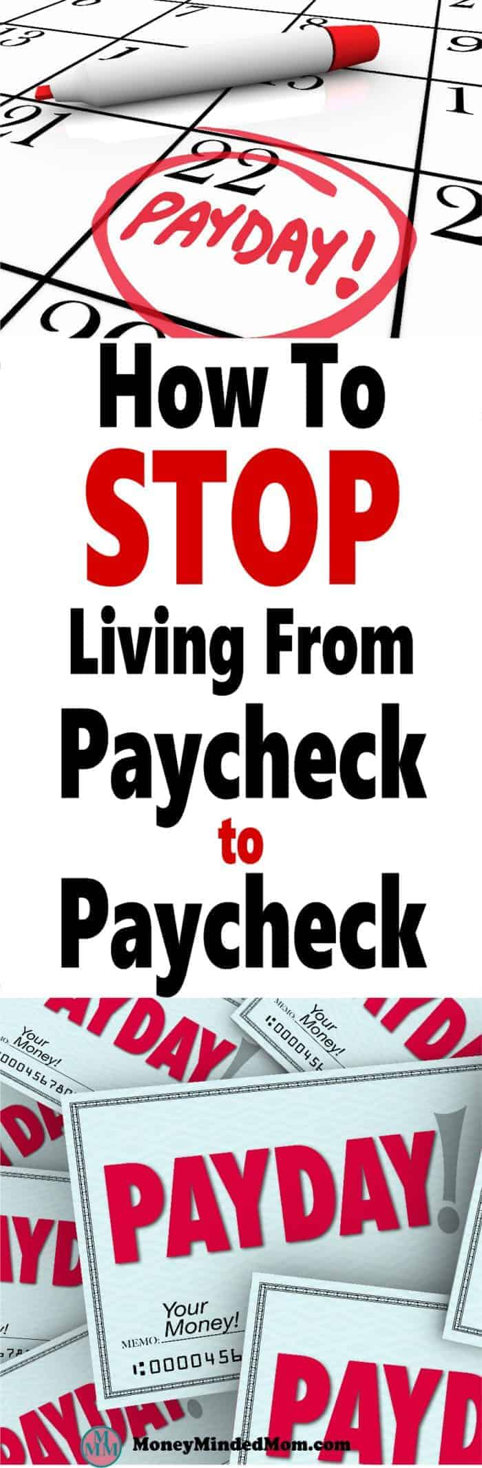 How to Stop Living Paycheck to Paycheck ~ Living paycheck to paycheck is no way to live. You need to start living within your means and find ways to save money. Luckily, I've got your back, read on to finally be free of your next payday. money | frugal living | save money | finance | paycheck to paycheck | manage money #money #finance #paycheck #makemoney