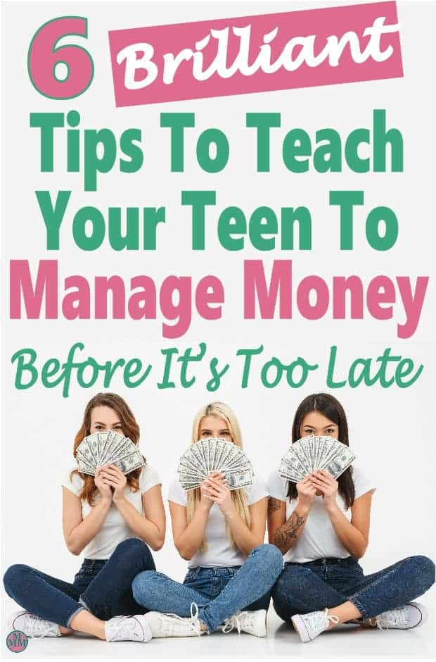 If you have a teen in your home then now is the time to teach your teen to manage money. You want them to be prepared for the real world and budgeting, saving and making money and working towards their goals is what they need to learn now to prepare for the future.  #money #finance