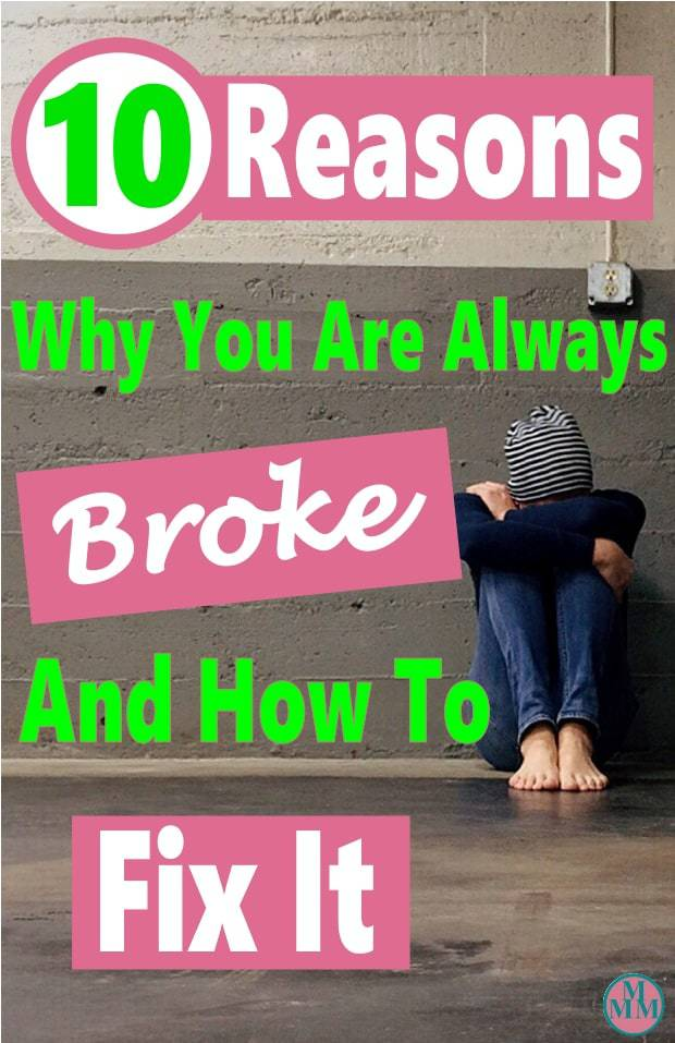 Are you sick of constantly being broke? Living from paycheck to paycheck, trying to make ends meet every week? This is no way to live your life. There are things you can do to get out of this situation to help you get out of debt and achieve financial freedom . If you are tired of living this way, click over to learn how to fix it. budget | money | personal finance | finance #money #finance #debt