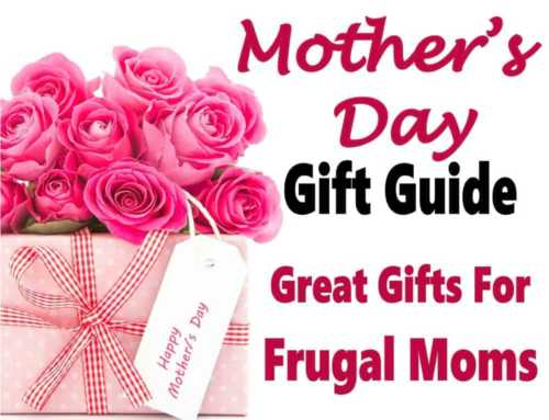Gifts for Mom ~ Mother's Day Gift Guide for Frugal Moms