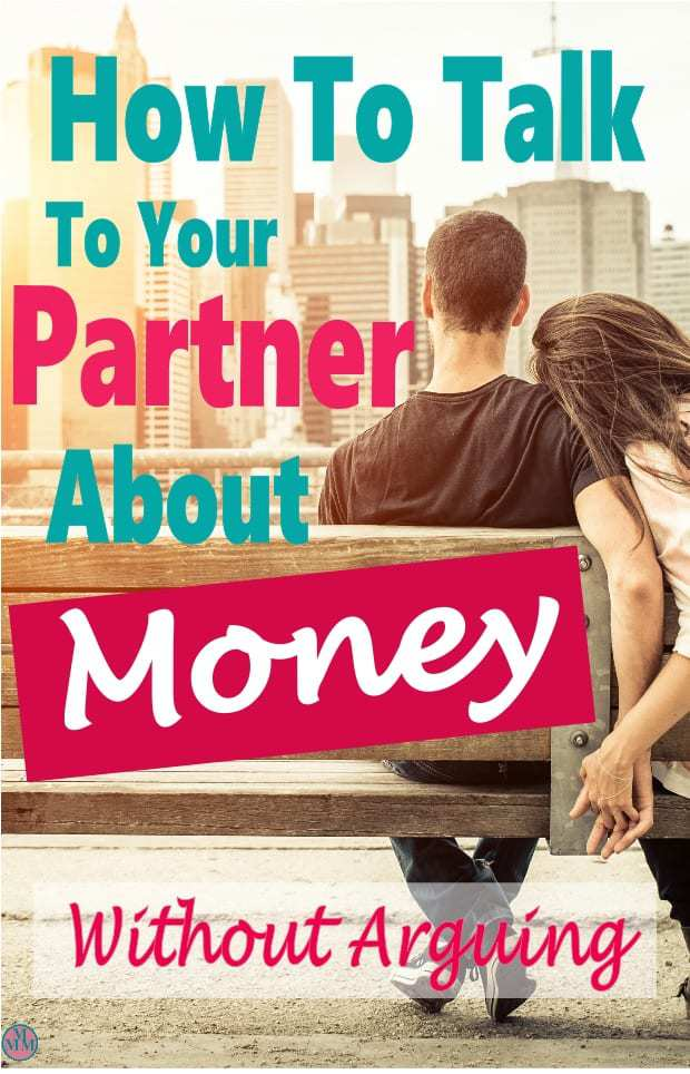 Talking to your partner about money is crucial in any relationship. Studies have shown that couples who don't talk about money are more likely to split up which is why you must make it a point to talk about money. Here are some tips to help you talk about money without arguing. #money #finance #familyfinance #personalfinance