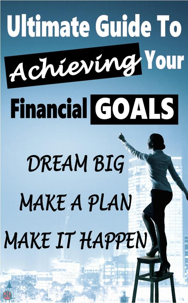 Are you struggling to reach your financial goals? Maybe you think that it's impossible or just keep failing. There are things that you can do to accomplish your goals and achieve your dreams. Click over to find out how. finance | family finance | goals | financial freedom #financialfreedom #money #finance