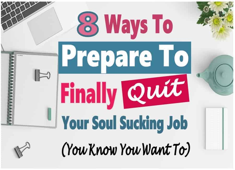 Are you tired of working at a soul sucking Job? Never getting recognition or credit for all your hard work? Do you dream of starting a business and work from home? I hear you, I've been there. Before you quit your job, there are things you need to do to prepare for the transition. Read on to learn what they are. #workathome #startabusiness #makemoney #sidehustle