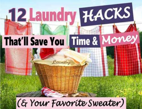 Laundry Hacks to Save Time & Money