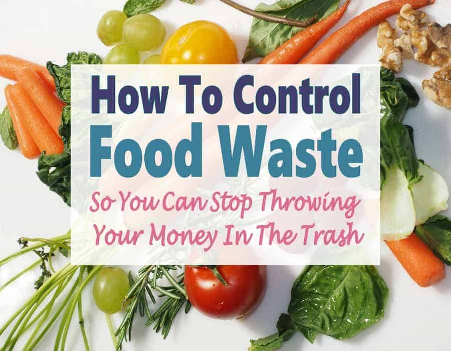 Food waste is a huge problem all over the place. You see it everyday. You may be cleaning out your fridge of unused left overs, it may be while you are cleaning the dishes up after supper and scraping a bunch of extra food into the trash. Or it could even be when you visit a store right before they close and see food going into the dumpsters. It is a big problem everywhere but there are some things we can do to control food waste.