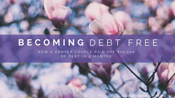 A debt free journey - one couples road to crushing $107,000 of debt ~ An interview with one millennial couples road to paying off $107 K of debt. Read on to see how they are doing it