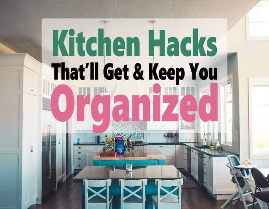 Having an organized kitchen is really the key to save time, money, and space. I've put together some practical product to help you get organized and stay that way. #organize #organization #cleaninghacks