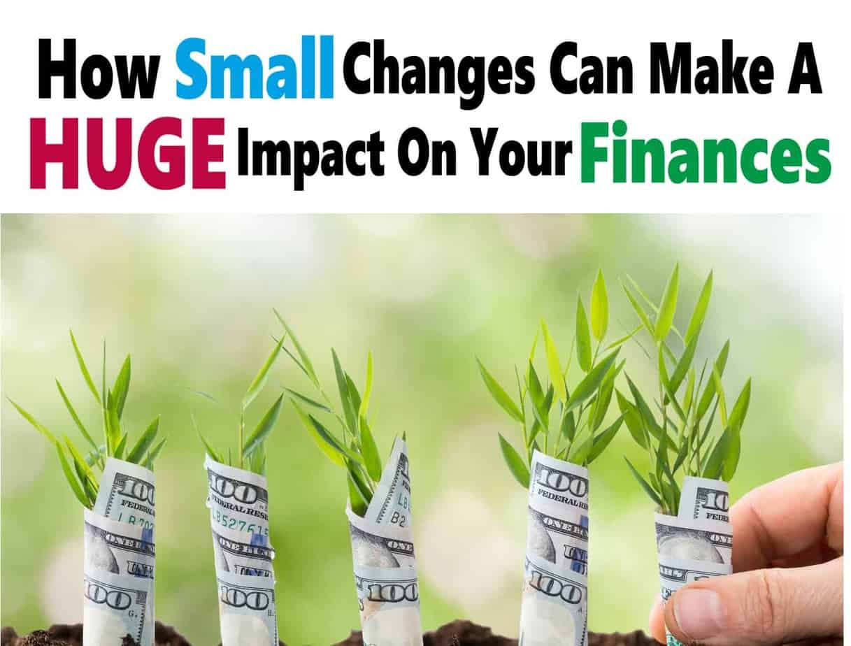 Small Financial Changes That Go a Long Way To Saving Money ~ Small financial changes can really go a long way when it comes to saving money, paying off debt, sticking to your budget and keeping more money in your pockets. Here are some painless ways you can do just that. saving money | money | finance | budgeting #money #finance #savemoney #budget