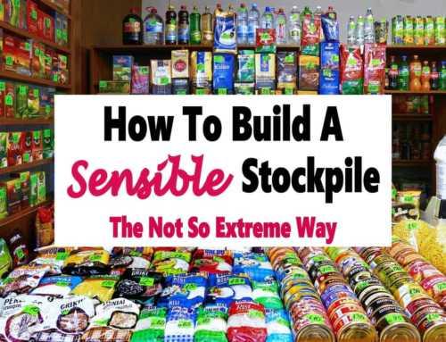 Saving Money With a Sensible Stockpile