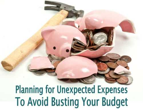 How To Plan For Unexpected Expenses To Avoid Busting Your Budget