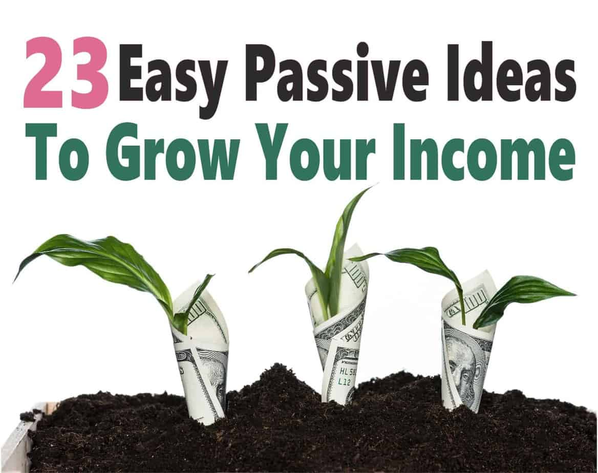 23 Easy Passive Income Opportunities ~ Passive income is a great way to start building multiple income streams that make money for years with just a bit of upfront work. Click over to learn more... passive income | make money | money | extra money | earn money #money #passiveincome #makemoney #workathome #finance