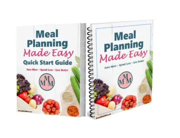 Meal Planning Made Easy Bundle ~ Ready to take control of your grocery budget, save time and stress in the kitchen, feed your family healthier meals? Then this meal planning guide and workbook is for you.