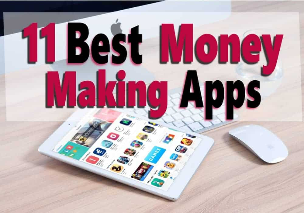 Looking to earn some extra money in your spare time? There are many money making apps that can help you make money from home or where ever you are using your smartphone. Click on over to see the 11 best money making apps. make money | extra money #moneymakingapps #makemoney #extraincome
