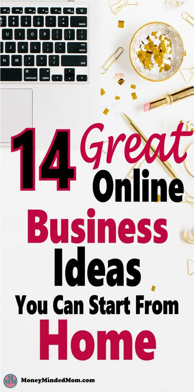 14 Great Online Business Ideas To Make Money At Home ~ Looking for a way to make money from home? Why not start an online business and work for yourself? There are many ways to make money at home working online. Click on over for 14 easy business you can start with little money. make money | online business | make money at home #makemoney #onlinebusiness #workathome