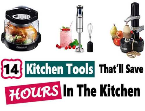 Kitchen Tools That Save Time and Work