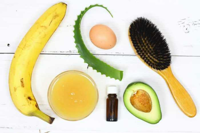 DIY Hair Mask Ingredients