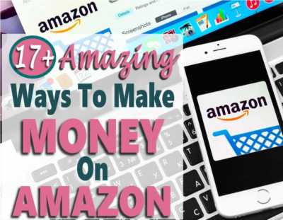 Did you know that there are over 17 ways to make money on Amazon? If you are looking for ways to make money from home or just earn extra income, then working with Amazon is the place to look.