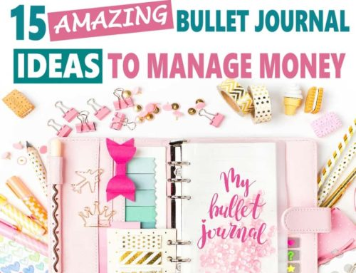 Amazing Bullet Journal Ideas to Manage Money