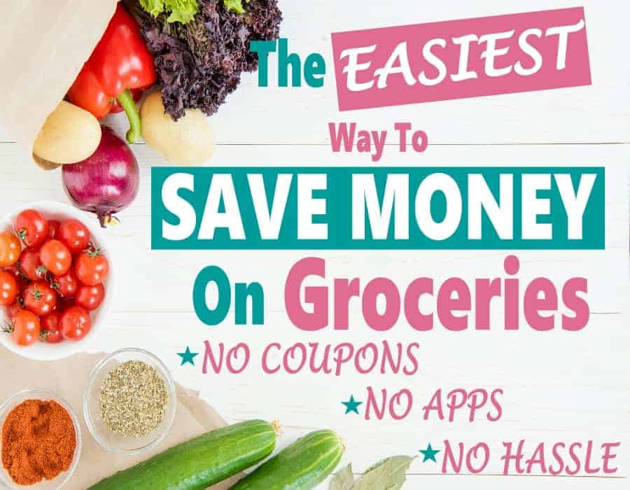 If you are looking to save money than you should start with your groceries budget. Saving money on groceries is one of the easiest ways to save on monthly expenses. #savemoney #grocerybudget #householdsavings