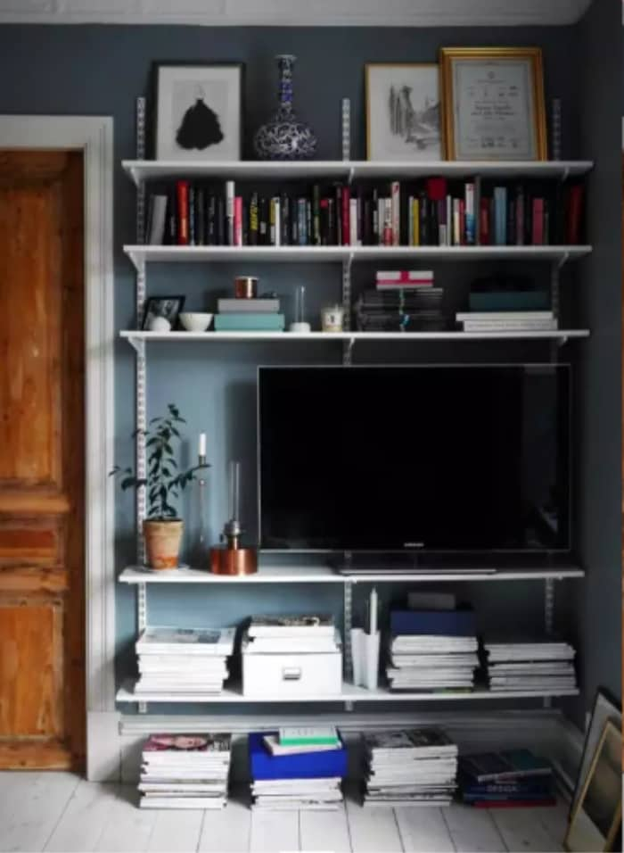 Entertainment Center Area DIY