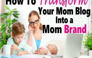 Do you have a mommy blog that you are hoping to turn into a business? The best way to start making money blogging is to turn your blog into a brand. But how do you create a mommy brand? This article will help you turn your blog into a brand so you can start making money blogging. #blog #bloggingforbeginners #momblog