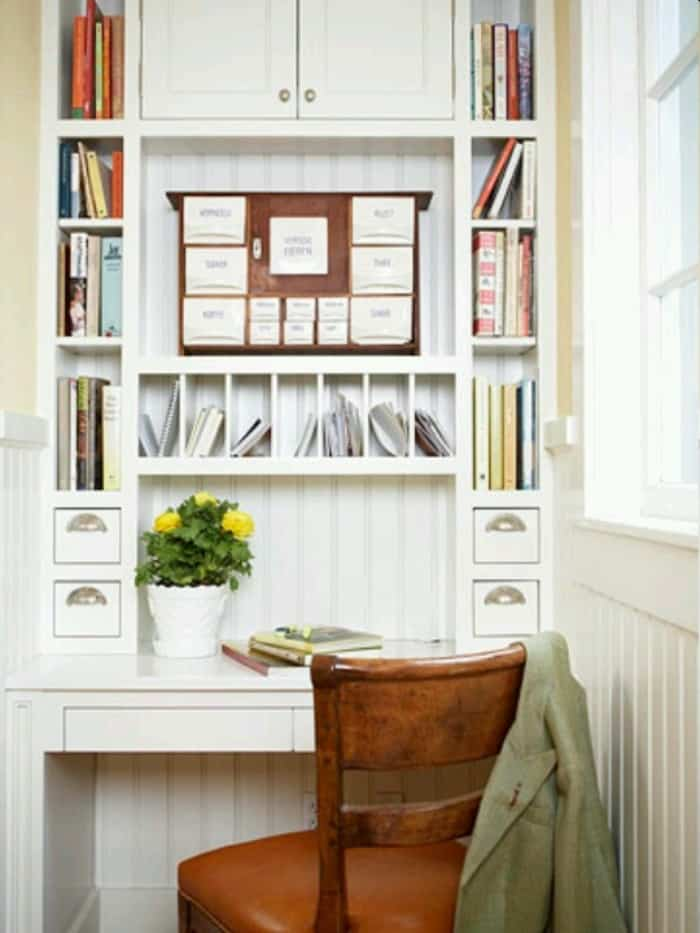 Office Nook for Small Spaces