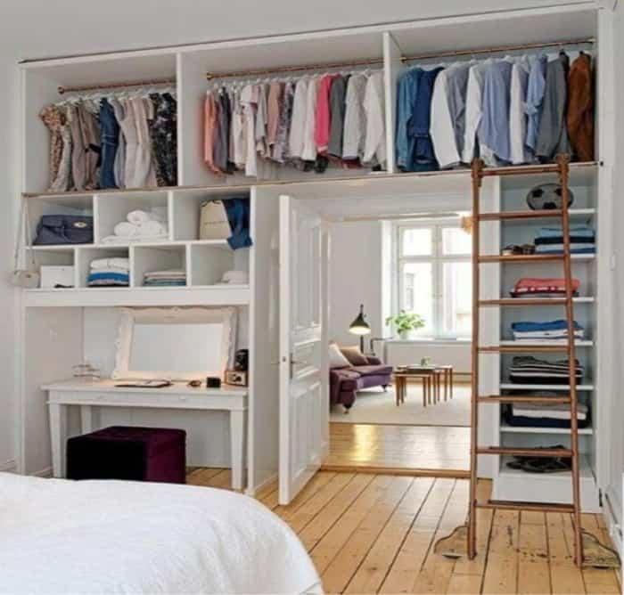 Wall Closet Storage