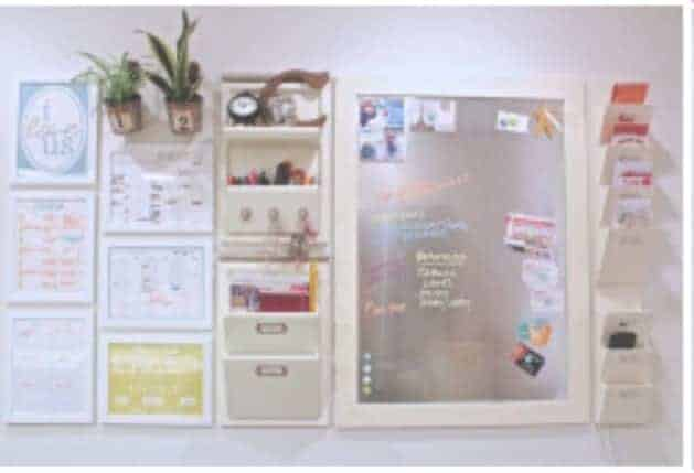 Planning Central Command Center Wall This command center is a perpetual planners dream. It's filled with printables that will keep your whole family organized.