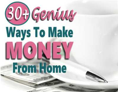If you are looking to make money at home, then your in luck. I found over 30 genius ways to make extra money or even a full-time income from home without a job. #makemoneyathome #makemoney #workathomejobs