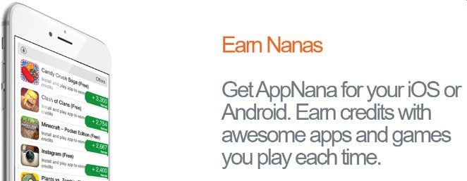 Earn free Amazon gift cards with AppNana