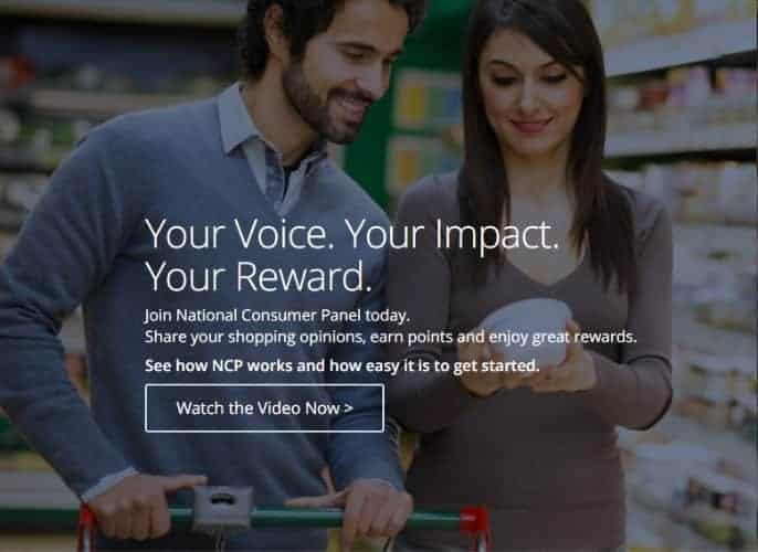 Earn free Amazon gift cards with National Consumer Panel
