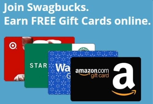 Earn free Amazon gift cards with Swag bucks