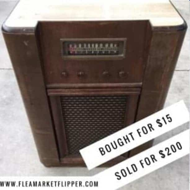 Flea Market Flipping $185 profit