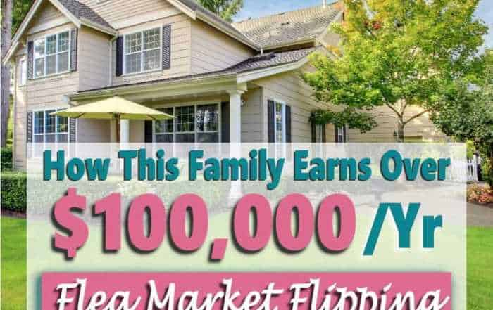 Need to make some extra money or find ways to make money from home? Why not try your hand at flea market flipping? This family make over $100,000 a year doing it. Click over to learn how.
