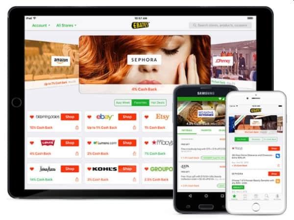 Ebates Cash Back App