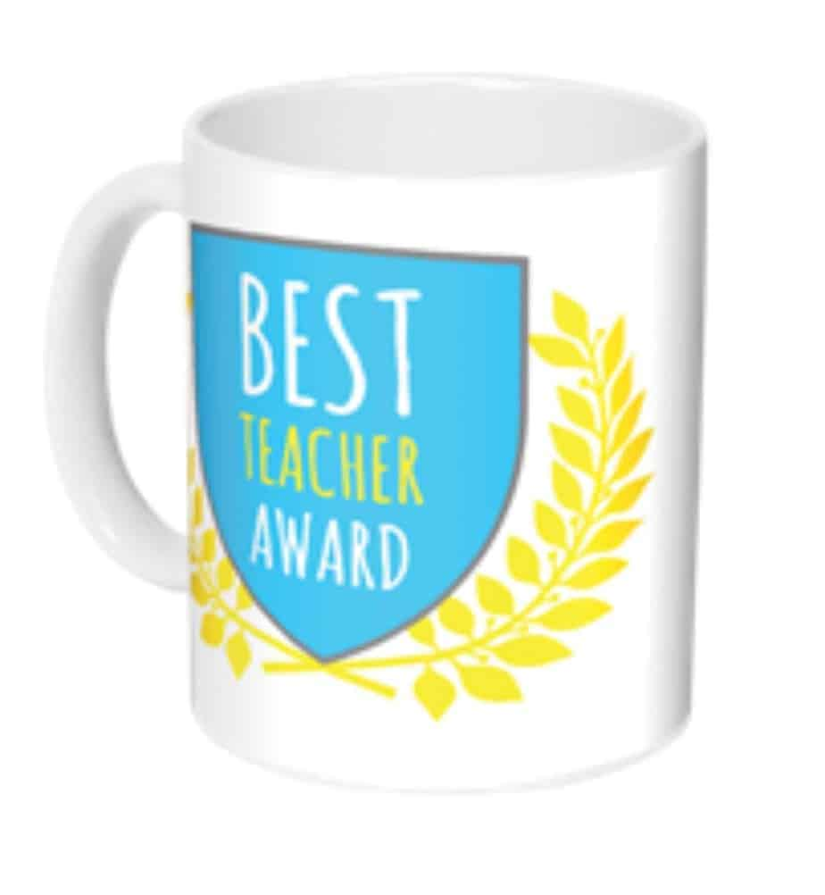 personalized teacher mug gift